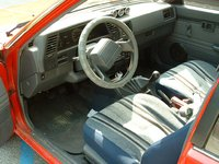 Picture of 1990 Nissan Sentra STD Coupe, interior