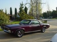 1969 Mercury Cougar XR-7 convertible. My baby, exterior