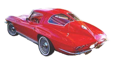 Picture of 1963 Chevrolet Corvette Sting Ray Split Window Coupe RWD, exterior, gallery_worthy