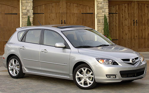 2008 Mazda MAZDA3 s Grand Touring Hatchback picture