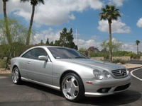 2003 Mercedes-Benz CL-Class 2 Dr CL55 AMG, 2003 Mercedes-Benz CL55 AMG picture, exterior
