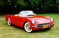 1955 Chevrolet Corvette Picture Gallery