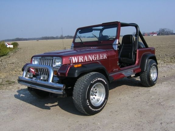 1992 Jeep Wrangler Reviews C2429 on tesla model 3 front view