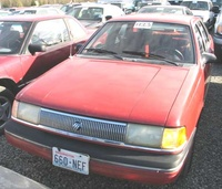 Picture of 1989 Mercury Topaz, exterior