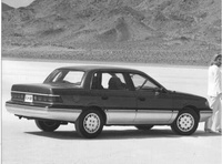 1989 Mercury Topaz Overview