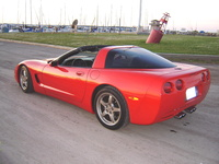 1998 Chevrolet Corvette Coupe, 1998 Chevrolet Corvette 2 Dr STD Coupe picture, exterior
