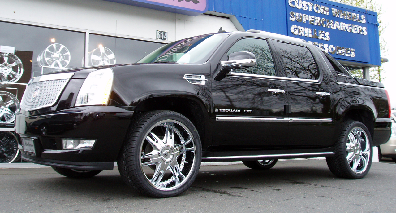 Cadillac Escalade Related Imagesstart 200 Weili Automotive Network Esv 2008 Ext Picture Exterior