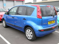 2006 Nissan Note Overview
