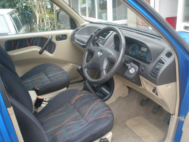 Picture of 2001 Nissan Terrano II, interior, gallery_worthy
