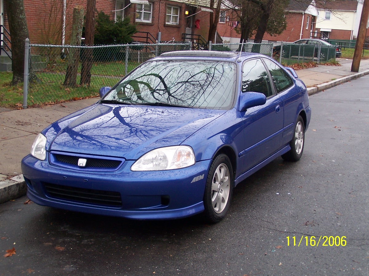 honda civic si coupe 1999 the image kid has it. Black Bedroom Furniture Sets. Home Design Ideas