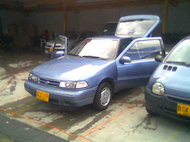 Picture of 1993 Hyundai Excel 2 Dr GS Hatchback