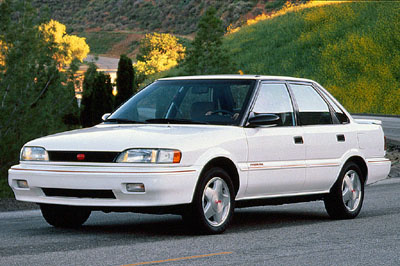 Picture of 1992 Geo Prizm 4 Dr GSi Sedan