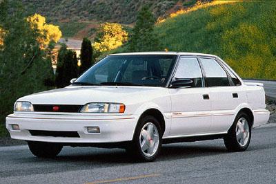 Picture of 1992 Geo Prizm 4 Dr GSi Sedan, exterior