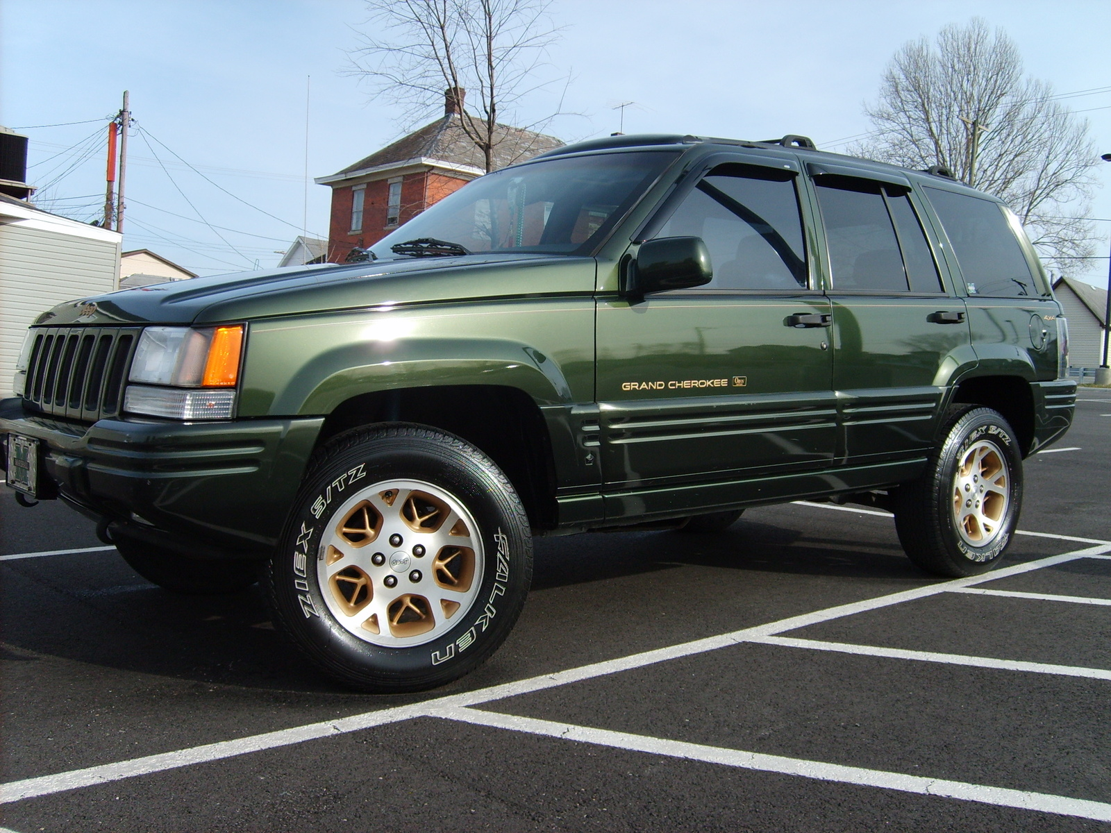 picture of 1996 jeep grand cherokee orvis 4wd exterior. Cars Review. Best American Auto & Cars Review