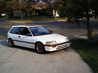 1989 Honda Civic Si Hatchback, 1989 Honda Civic Hatchback Si picture, exterior