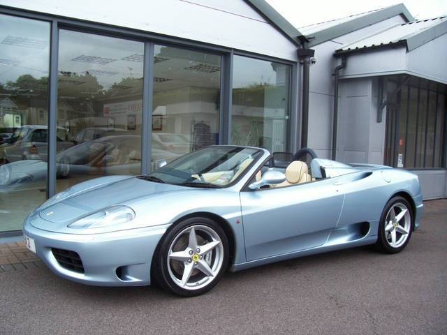 Picture of 2002 Ferrari 360 Spider RWD, exterior, gallery_worthy