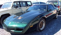 1990 Pontiac Firebird Trans Am GTA, 1990 Pontiac Firebird 2 Dr Trans Am GTA Hatchback picture, exterior