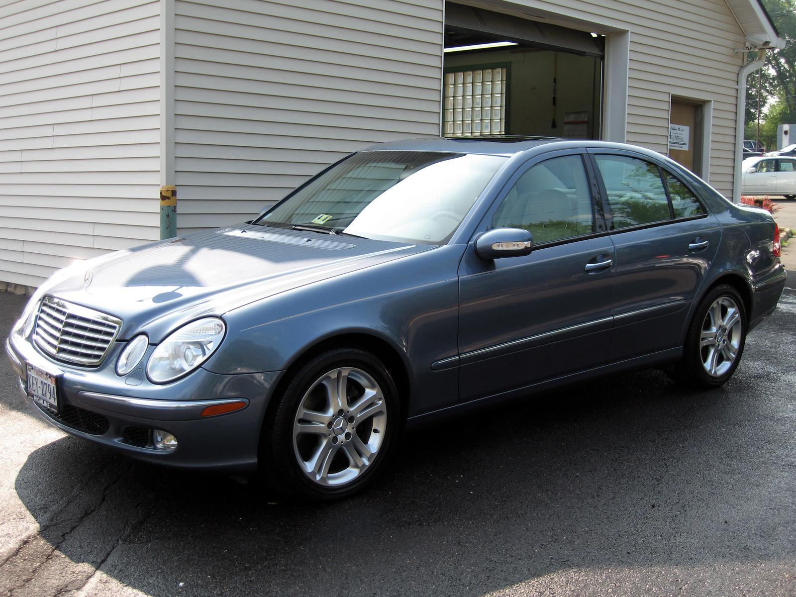 2004 Mercedes-Benz E-Class E500, 2004 Mercedes-Benz E500 Sedan picture, exterior