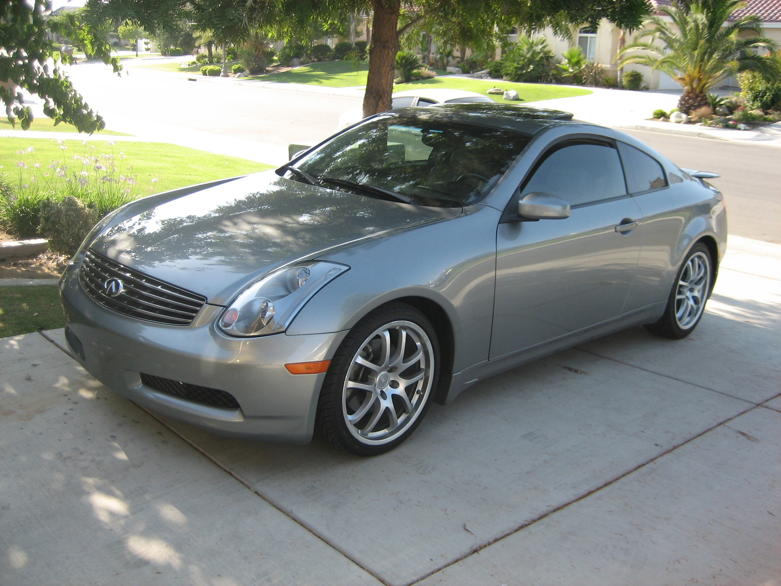2005 infiniti g35 coupe picture exterior