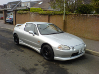 Picture of 1994 Honda Civic del Sol, exterior