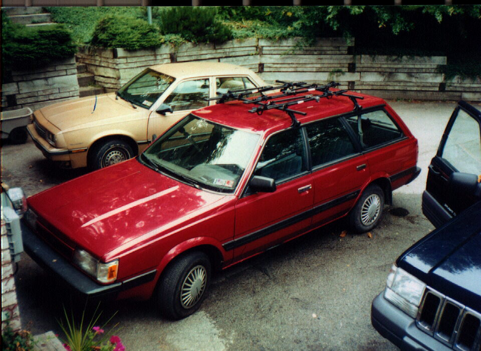 1991 Subaru Loyale 4 Dr STD 4WD Wagon picture, exterior