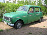 1975 Renault 4 Overview