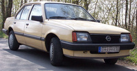 1986 Opel Ascona Overview