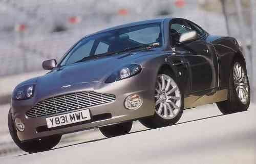 2002 aston martin v12 vanquish cargurus. Black Bedroom Furniture Sets. Home Design Ideas
