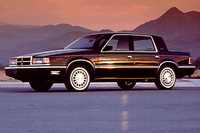 1991 Dodge Dynasty 4 Dr STD Sedan picture, exterior