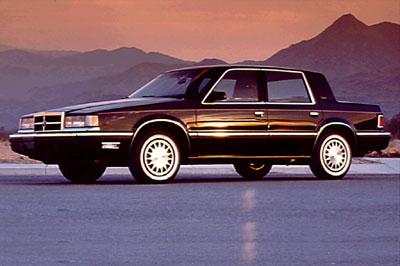 Picture of 1991 Dodge Dynasty 4 Dr STD Sedan