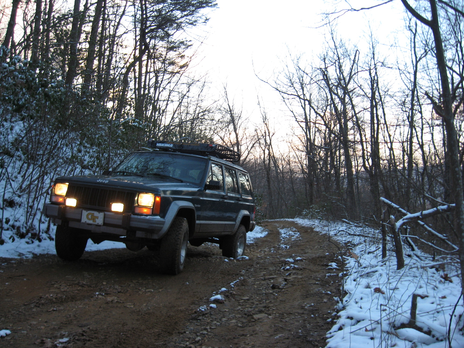 1995 Jeep Cherokee 4 Dr Country 4WD SUV picture, exterior