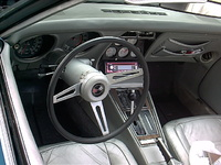1975 Chevrolet Corvette Coupe picture, interior