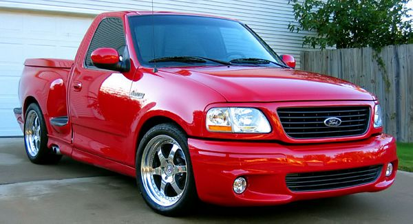 2004 Ford F-150 SVT Lightning 2 Dr Supercharged Standard Cab Stepside SB picture