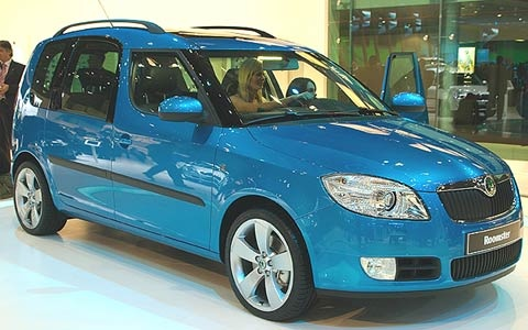 Picture of 2008 Skoda Roomster, gallery_worthy