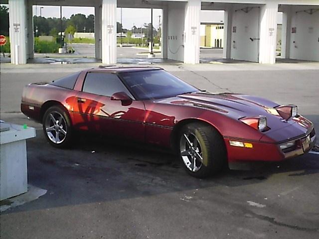 1989 Chevrolet Corvette Convertible, my first corvette, exterior