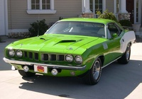 1971 Plymouth Barracuda Overview