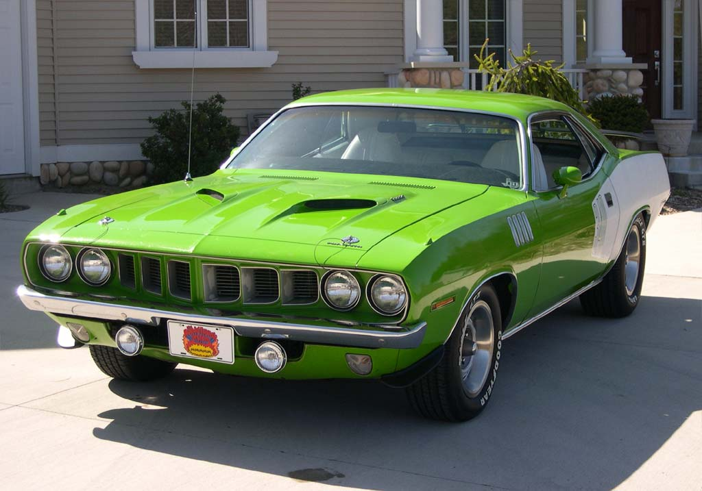 Plymouth barracuda de chrysler #2