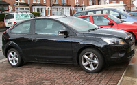 2008 Ford Focus 3 1.8 Zetec 3 Door £16,000 version of the ST 2.5, exterior