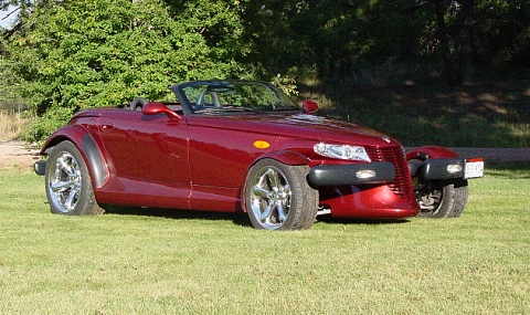 2002 Chrysler Prowler 2 Dr STD Convertible picture