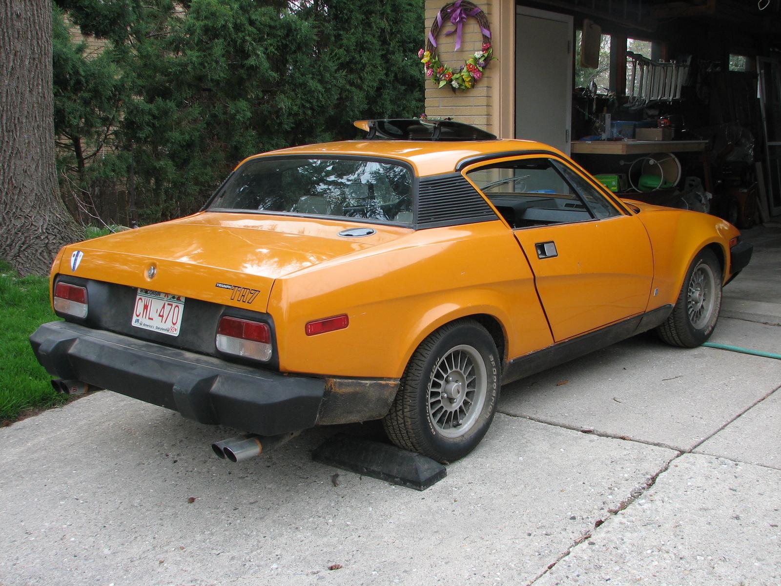 1976 Triumph Tr7 - Exterior Pictures