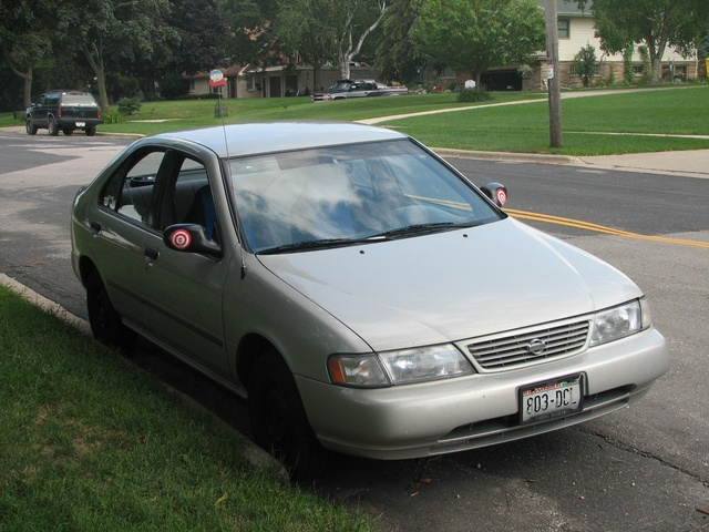 Picture of 1997 Nissan Sentra XE, exterior