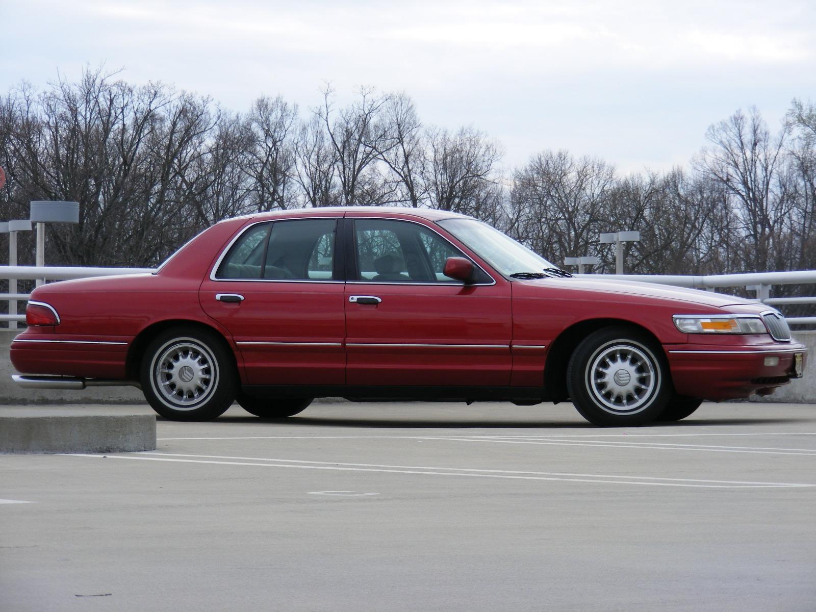 picture of 1997 mercury grand marquis 4 dr ls sedan exterior. Black Bedroom Furniture Sets. Home Design Ideas