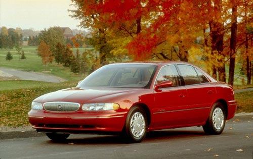 1998 Buick Century Custom. 1997 Buick Century Custom,
