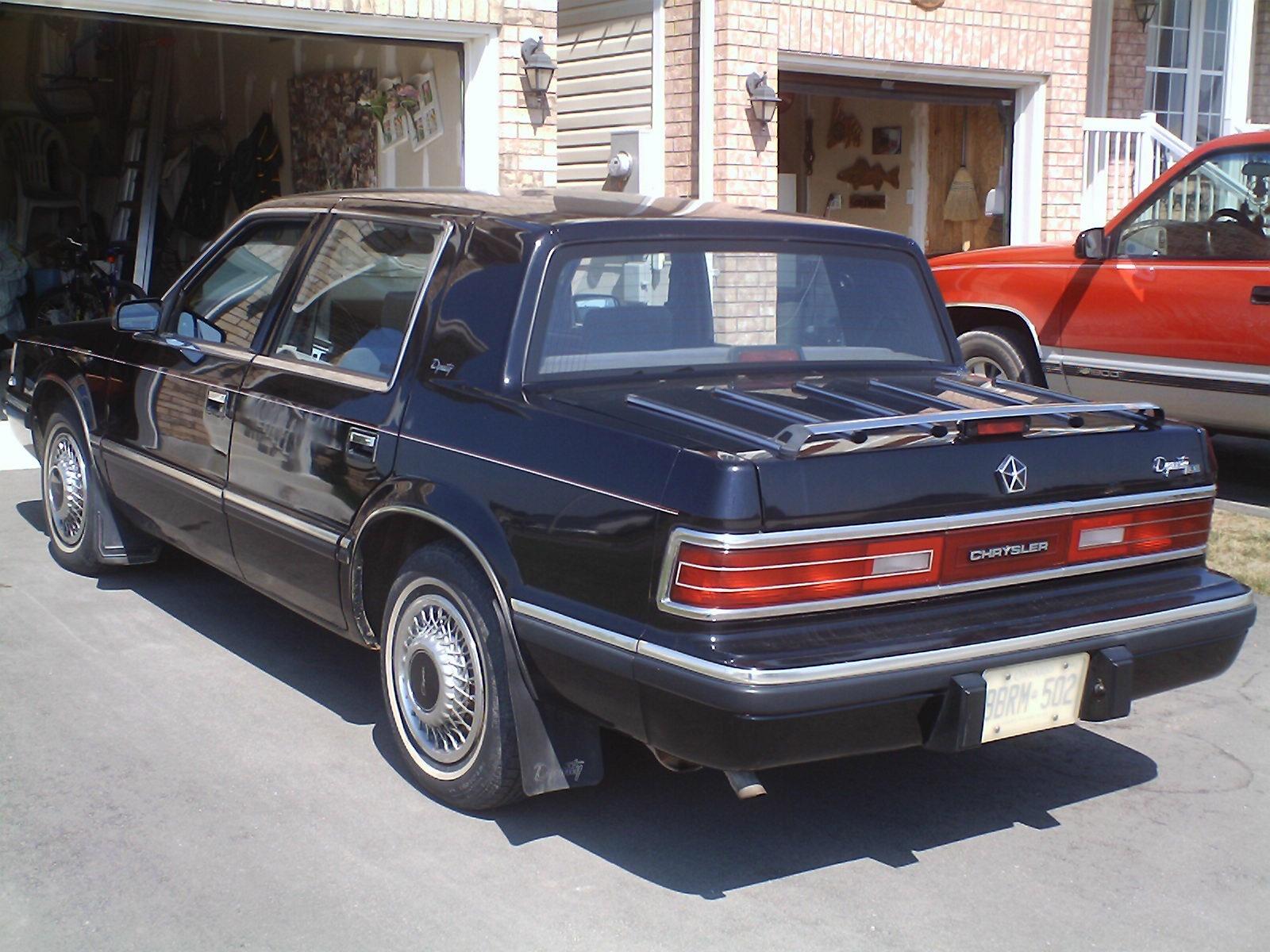 1993 Chrysler Dynasty Overview Cargurus
