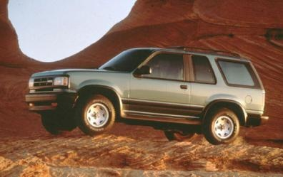 Picture of 1993 Mazda Navajo, exterior