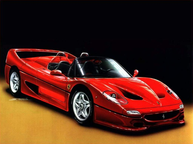 Picture of 1996 Ferrari F50, exterior, gallery_worthy