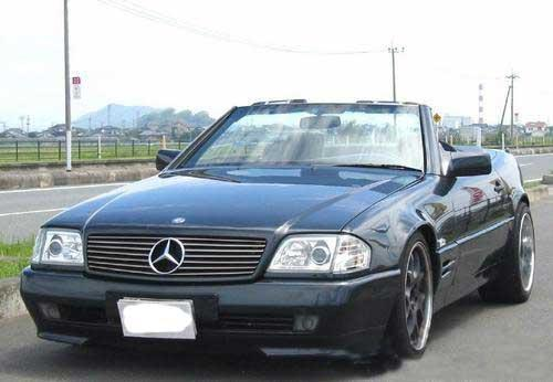 1992 Mercedes-Benz 500-Class 500SL Convertible, 1992 Mercedes-Benz SL500 picture, exterior