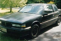 1987 Pontiac Grand Am, 1990 Pontiac Grand Am 2 Dr SE Coupe picture, exterior