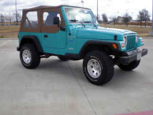 1998 Jeep Wrangler picture
