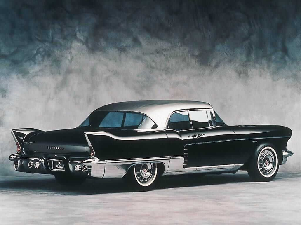 English 11 Red Class Murdered Out 1955 Cadillac